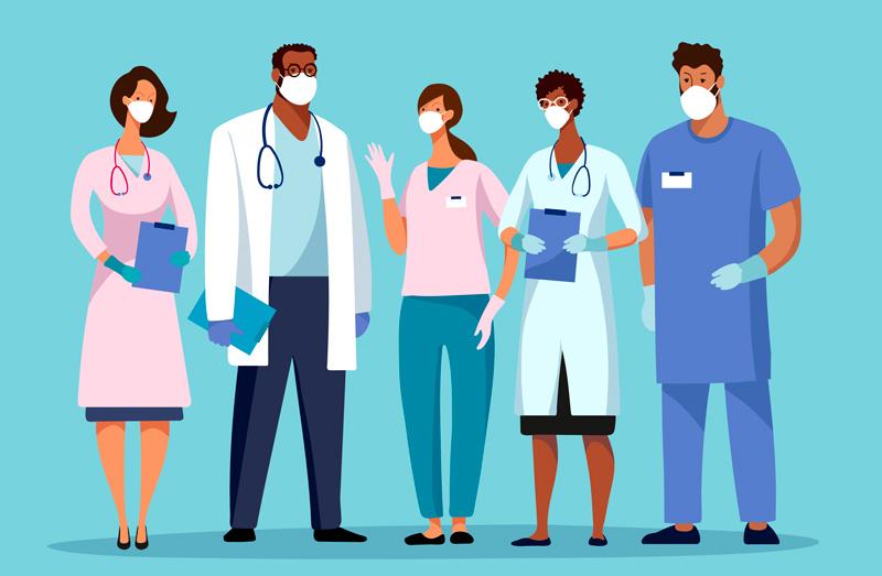 Visuel d'accès au webinaire sur la stratégie de communication vers les médecins en période COVID