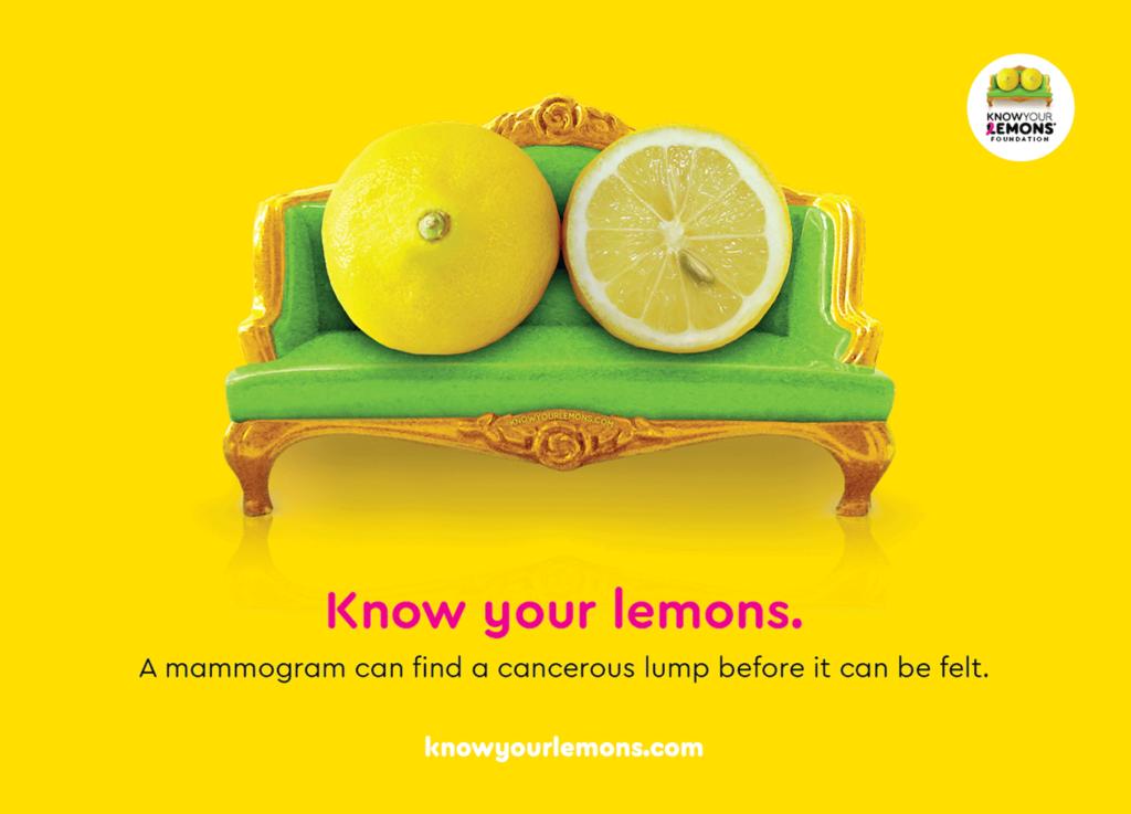 Prévention Cancer du sein : Know your lemons