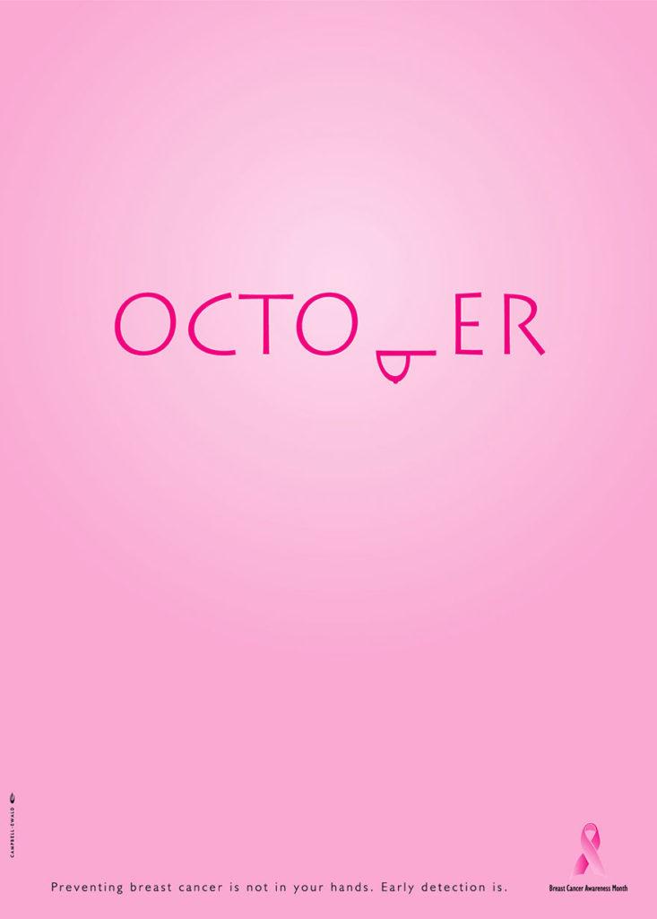 Octobre rose - campagne de commucation aux Etats-Unis