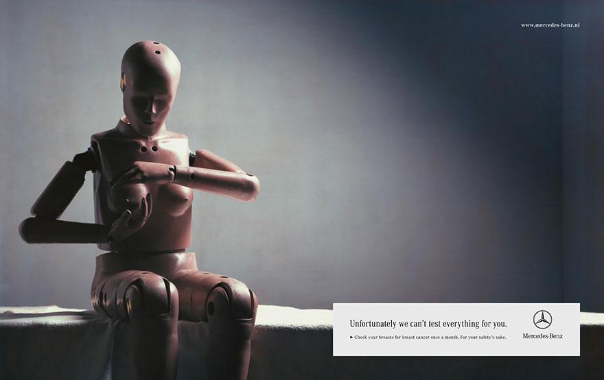 Octobre rose - Campagne de communication aux Pays-Bas